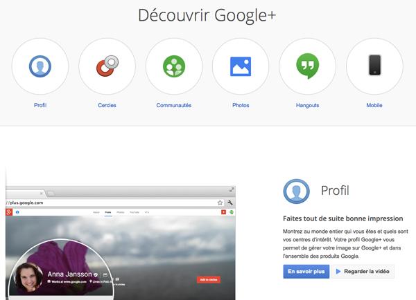 Google+ et son impact sur le référencement web