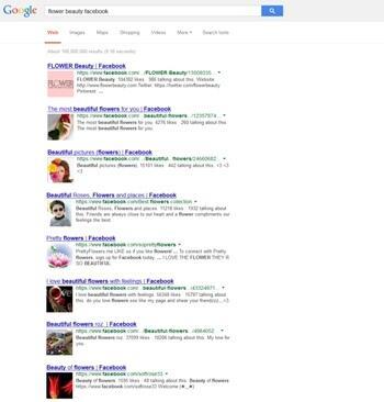 Google ajoute une image représentative du site à son moteur