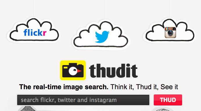 Thudit: pour une recherche d'images en temps réel