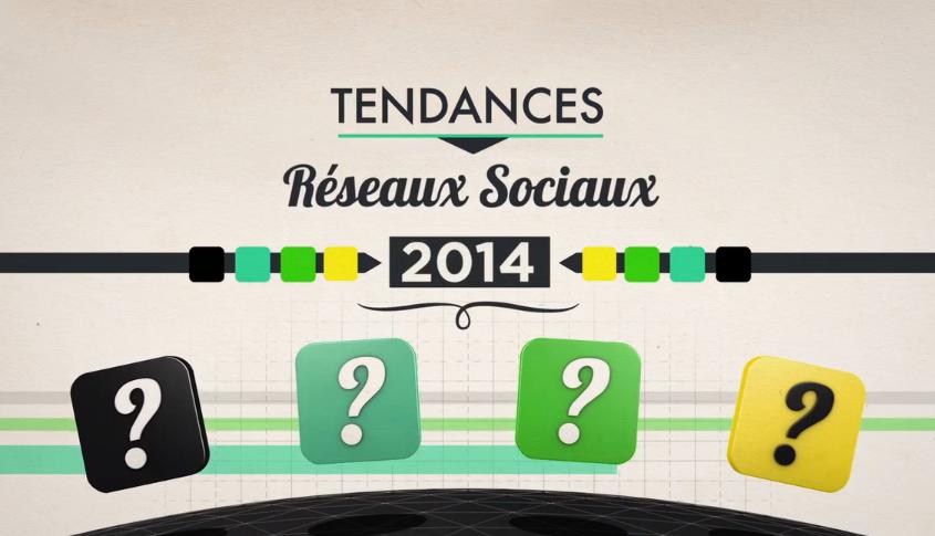 Tendances des médias sociaux en 2014 (vidéo)