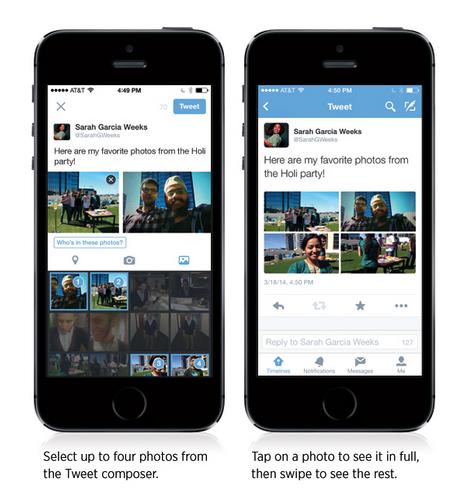 Série de photos collages sur Twitter