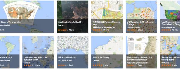 À quoi sert Google Maps Gallery: tous les détails!