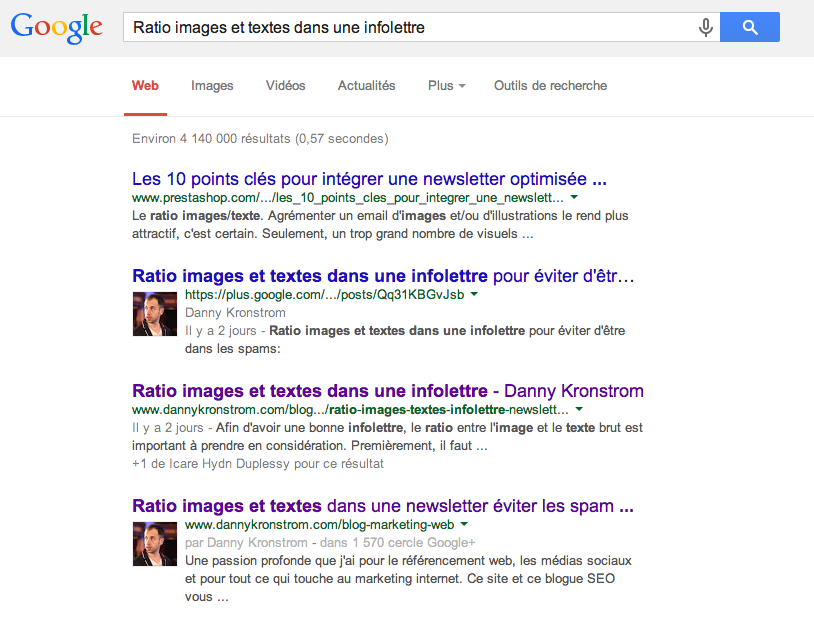 Google et le positionnement web avec Google+