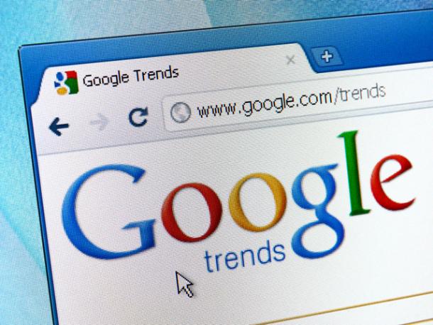 Google Tendances de recherches