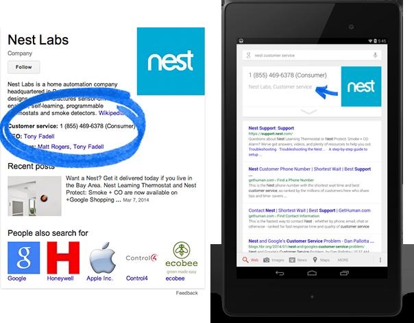 Google accepte les balises pour le référencement web local