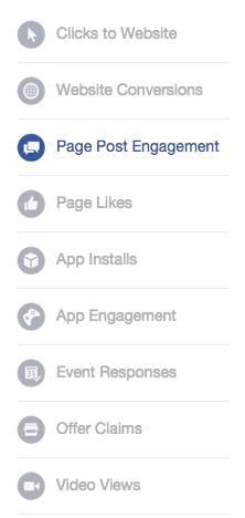 Cible publicitaire Facebook