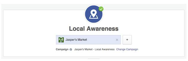 Facebook intérêt local