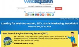 WebSquash : pour référencer votre site web