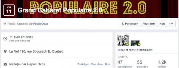 Facebook propose une nouvelle identité visuelle à ces Évènements