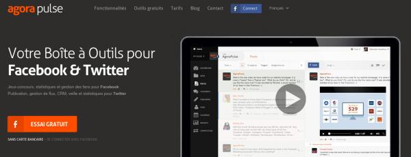 AgoraPulse : votre boîte à outils pour Facebook et Twitter